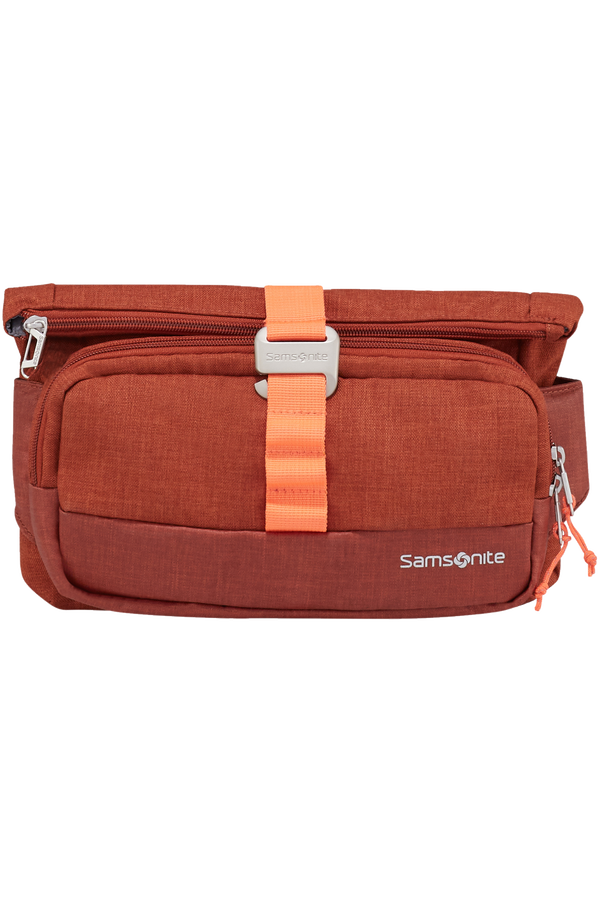Samsonite Ziproll Belt Bag  Burnt Orange