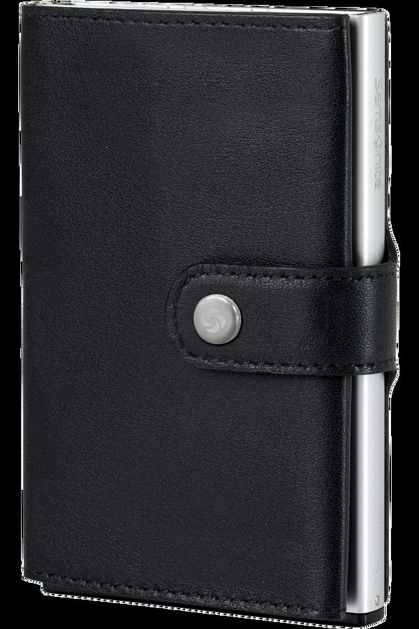 Samsonite Alu Fit 202 - Slide-up Wallet  Black