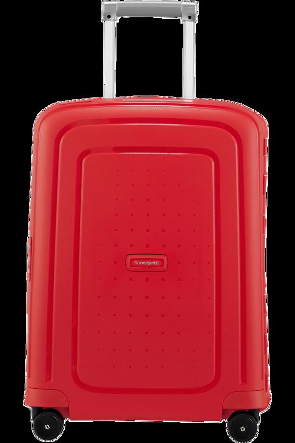 Samsonite S'Cure Spinner 55cm  Capri Red Stripes