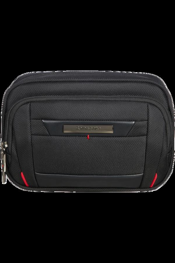 Samsonite Pro-Dlx 5 C. Cases Slim Toiletry Bag  Black