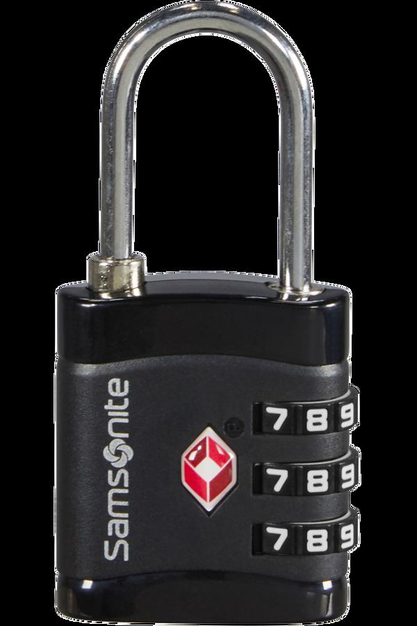 Samsonite Global Ta Combilock 3 dial TSA light Black