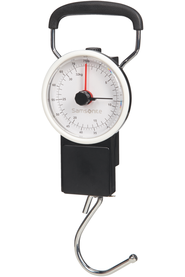 Samsonite Global Ta Manual Scale Black