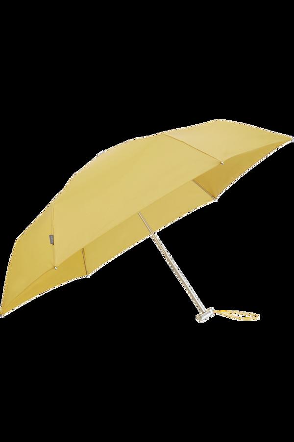 Samsonite Alu Drop S 3 Sect. Manual Flat  Mustard Yellow