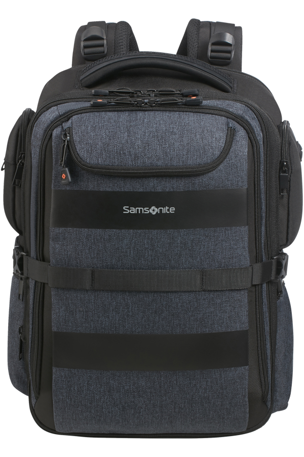 Samsonite Bleisure Backpack 15.6' Exp Overnight  Dark Blue