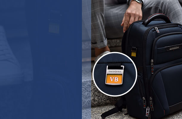 ADD INITIALS FOR FREE ON YOUR LAPTOP BAG