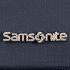 Samsonite fém betű logó.