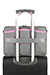 Nefti Briefcase Rock Grey/Fuchsia